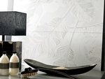 Feather Print Porcelain Wall Tiles by Old Castle Home Design Center