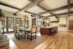 Natural Wood Flooring for Kitchen by Old Castle Home Design Center