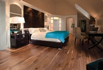 Atlanta Hardwood Flooring for Bedroom by Old Castle Home Design Center