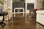 Bamboo Hardwood Flooring for Living Room by Old Castle Home Design Center in Atlanta