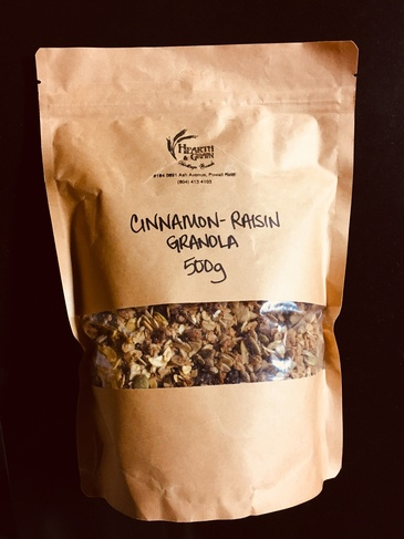 Cinnamon-Raisin Granola