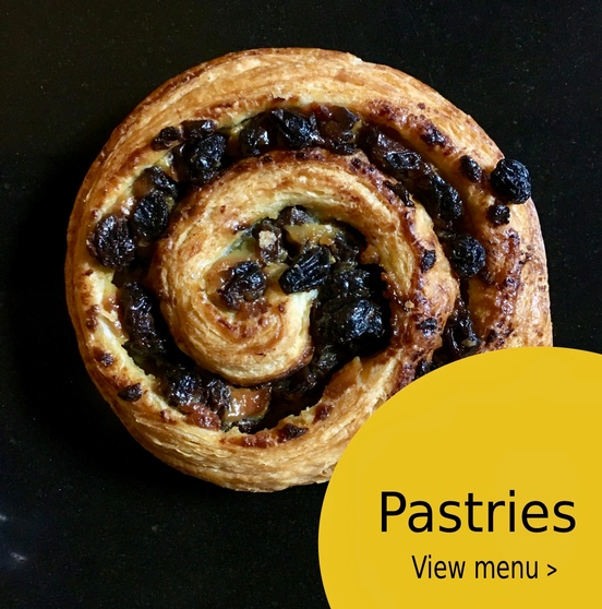 Pastries: View Menu >