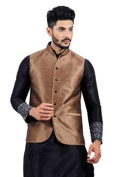 Sienna Coffee  Nehru Jacket   RK4136