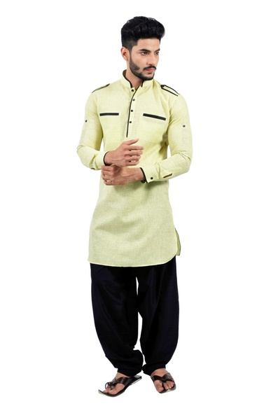 Limegreen  Pathani Suit  RK4142