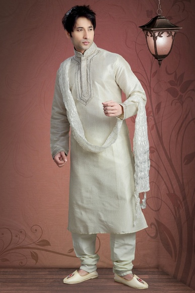 Beautiful White Color Kurta Payjama