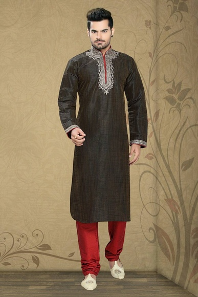 Brown Color Fabulous Kurta Payjama