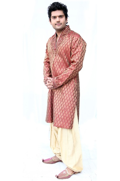 Stylish High Neck Kurta Set BL4006