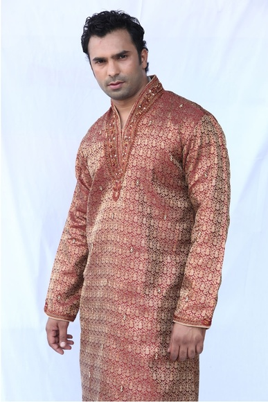 Mesmerizing Silk Kurta Set BL4010