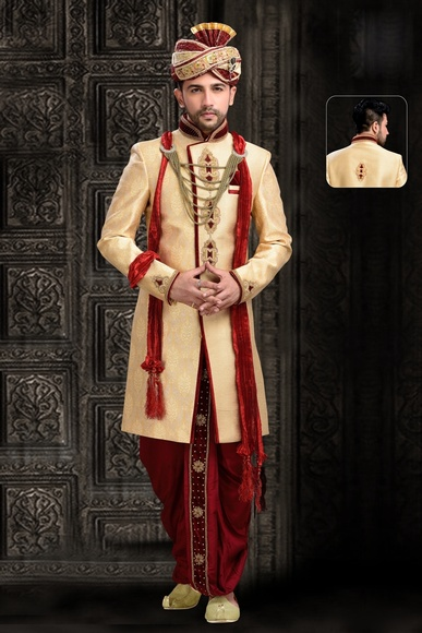 Chrming Style Royal Sherwani For Wedding
