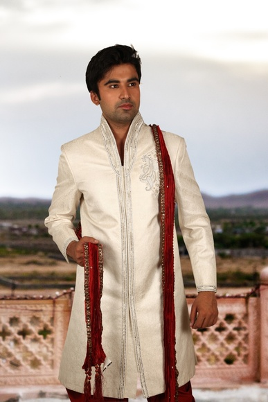 Charming Fog Colour Sherwani BL2033