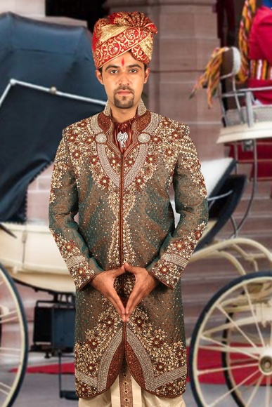 Remarkable Royal Sherwani BL2047