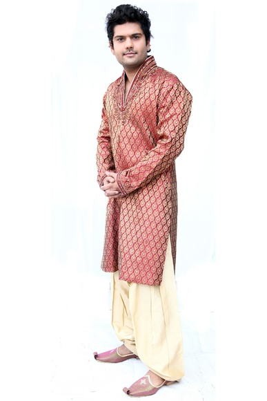 Stylish Semi Sherwani BL4006