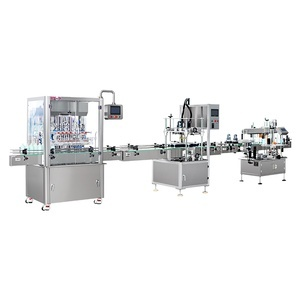 Automatic Liquid Filling Line 8 Head - Liquid Filling Lines Delaware at Certified Machinery