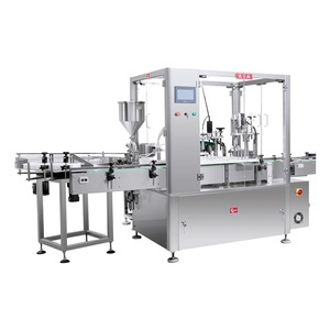 Monoblock Filler and Capper -Plug Optional at Certified Machinery - Packaging Equipment Manufacturer Pennsylvania