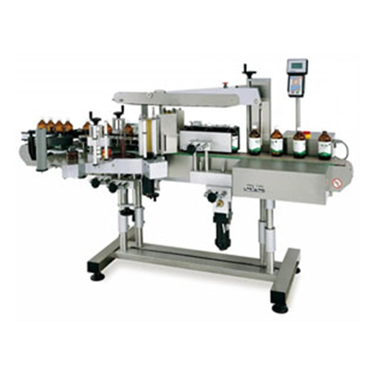 CVC430 Front & Back Labeler with Wrap Station