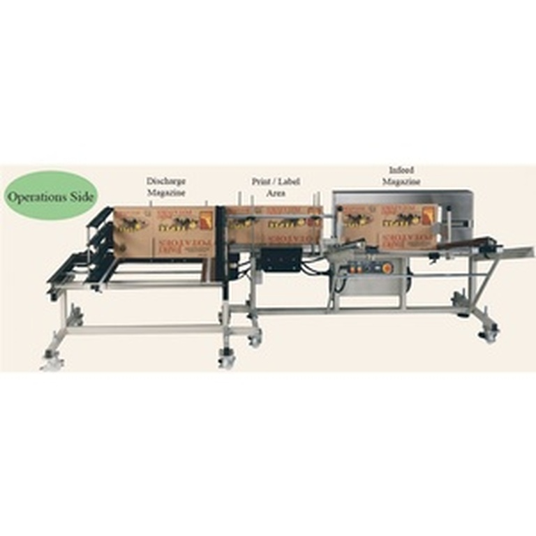 TR-1000 Case Feeder Auto Stak by Certified Machinery - Used Packaging Machinery Manufacturer in Lawrenceville