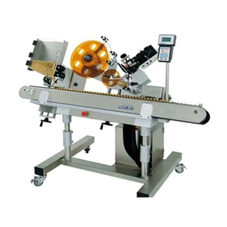 CVC350 Horizontal Wrap Labeler - Labeling Machine by Packaging Machinery Equipment Dealer Florida at Certified Machinery