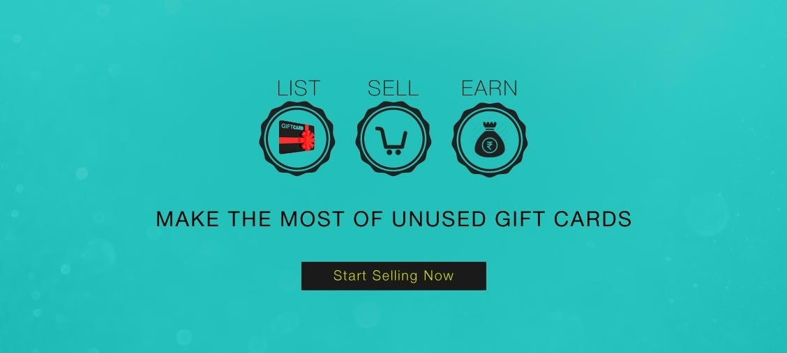 Sell Unused Gift Cards