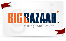 bigbazaar with ribbon