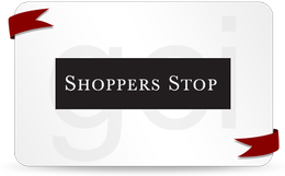 Shoppers Stop E - Gift Card