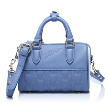 Light Blue Mini Duffel Bag (1)