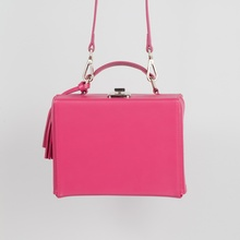 The mini box luggage (Rich Pink)