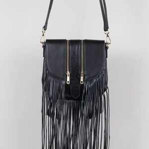 Mini tassel rocker saddle (Black)