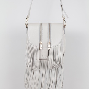 Mini tassel rocker saddle (Light Grey)