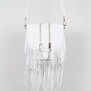 Mini tassel rocker saddle (White)