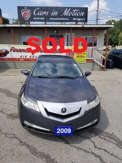 2009 ACURA TL----SOLD---