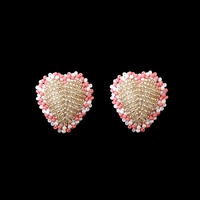 Olivia Dar - Heart Earrings