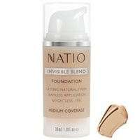 Natio - Invisible Blend Foundation Medium Tan
