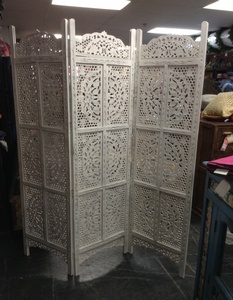 REGULAR PRICE $850 - Screen- Finely Carved Detail- 60w by 71h