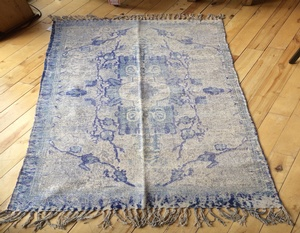 REGULAR PRICE $120.00 - Rug-100% Hand Loomed  Cotton-34 by 67 Inch