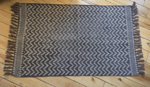 MORNINGSTAR - Rug- Mat Size-100% Cotton -41 long by 23 inches-