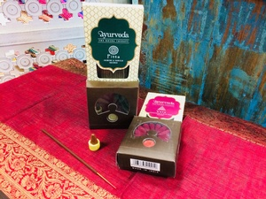 MORNINGSTAR - Incense-Various Ayurvedic Scents-Cone and Stick Variety