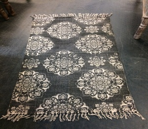 MORNINGSTAR - Rug-100% Hand Loomed  Cotton-34 by 67 Inch