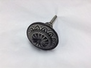MORNINGSTAR - Door Pull-Iron-Mandala Design