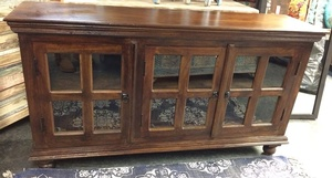 MORNINGSTAR - Sideboard-With Glass-59w by 16d by 32h