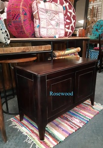 MORNINGSTAR - Cabinet/Sideboard-2 Doors-Rosewood-33w by 16d x 23.5h