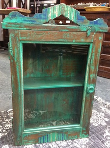 MORNINGSTAR - Medicine Cabinet-Green/Blue-17w by 6d by 26h