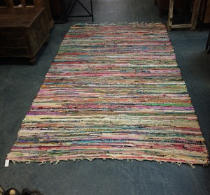 MORNINGSTAR - Rag Rug-5ft by 8ft size