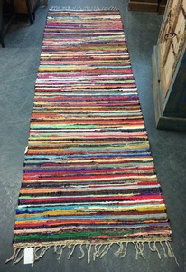 MORNINGSTAR - Rag Rug-Runner 2ft by 8ft size