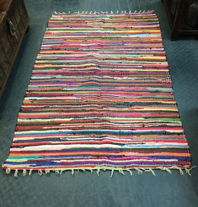 MORNINGSTAR - Rag Rug-4ft by 6ft size