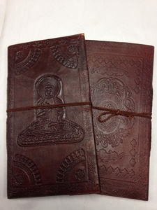 Price $14.95 - Notebook- Leather-Thin-5 by 9 inch