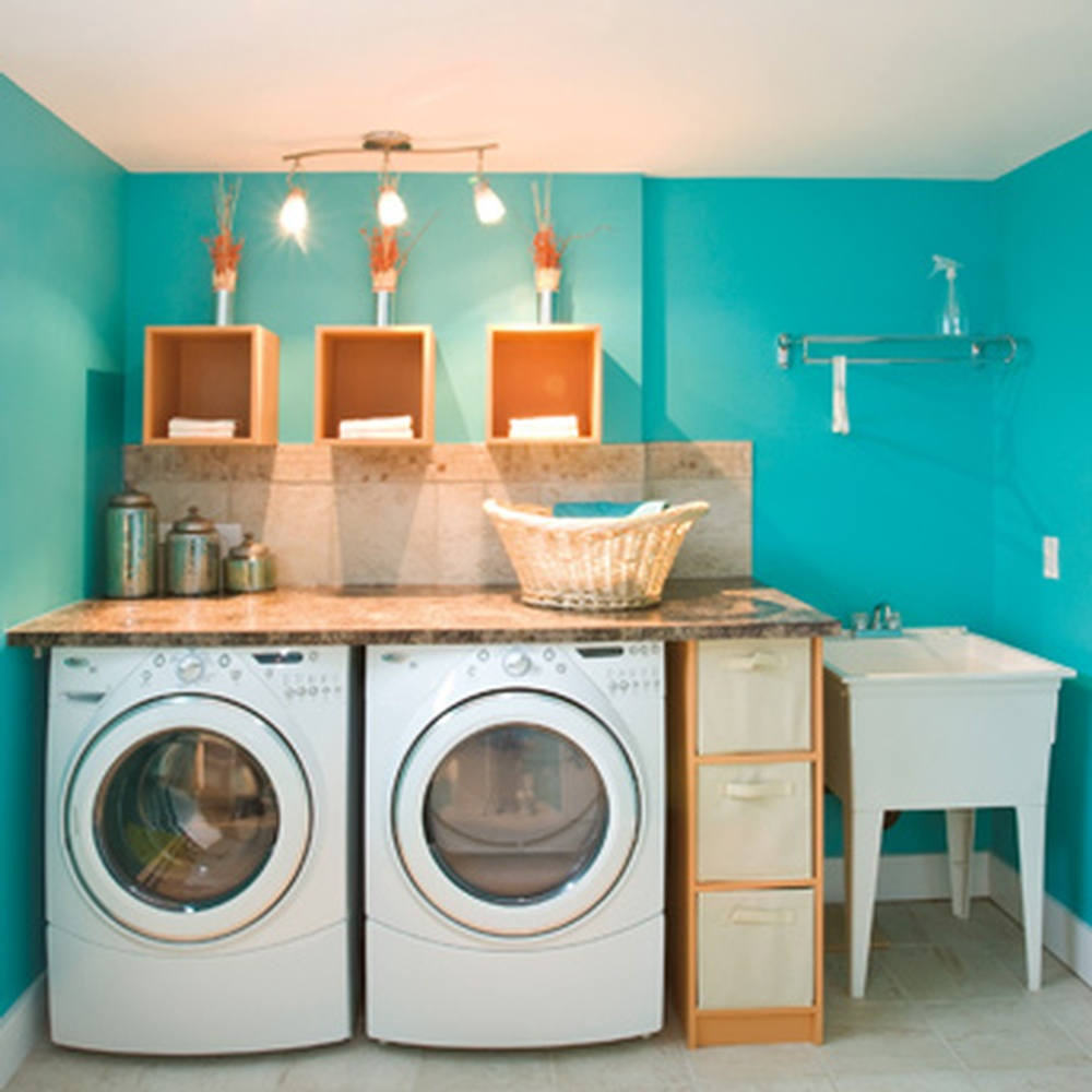 bfd rona products diy add a laundry room. Black Bedroom Furniture Sets. Home Design Ideas