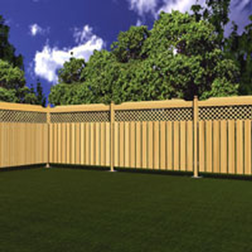 bfd rona products diy build a treated wood fence. Black Bedroom Furniture Sets. Home Design Ideas