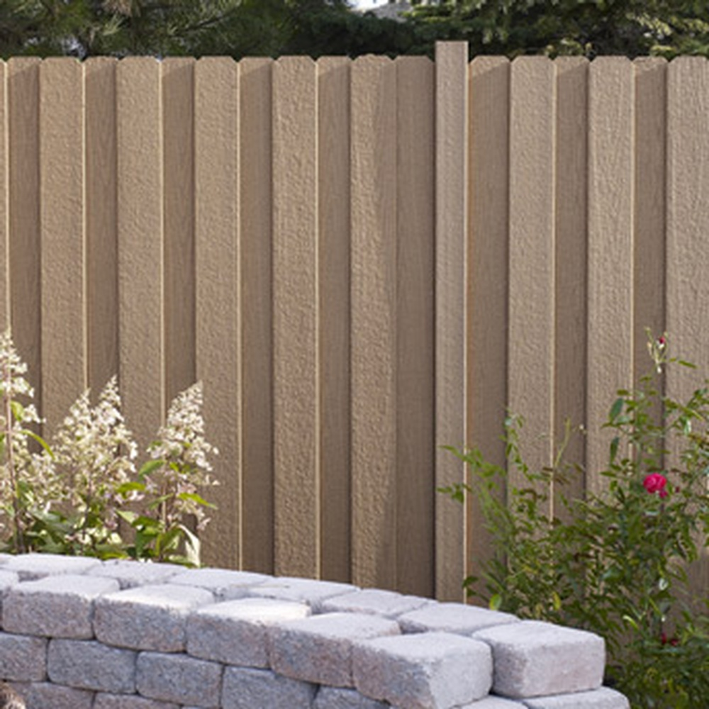 Bfd rona products diy install fence panels composite fence panel backyard baanklon Images