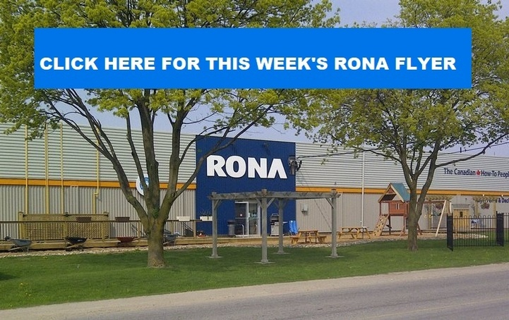 Kitchener Waterloo Rona Flyer