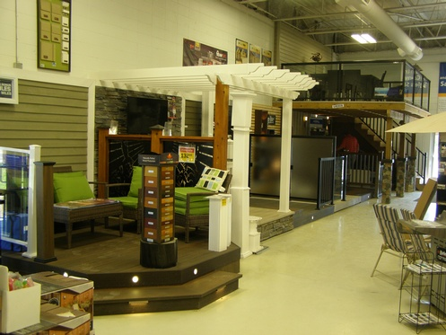 Kitchener Deck Showroom